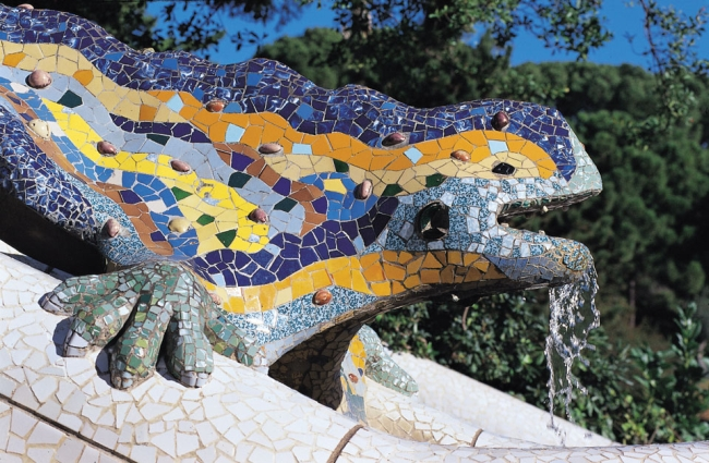 Barcelona - Parcul Guell