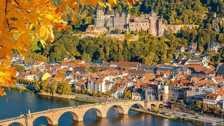 Heidelberg toamna