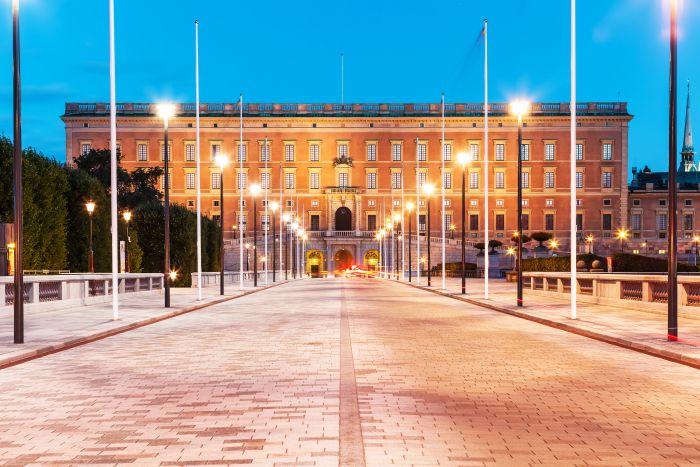 Palatul regal Suedia
