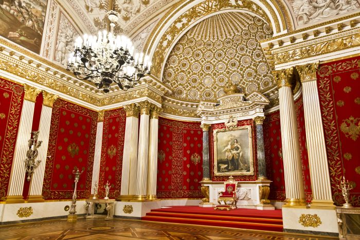 Sala mica a tronului Ermitaj