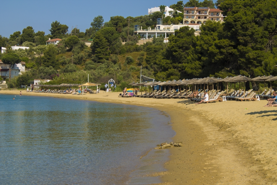 Image result for Plaja Troulos: skiathos