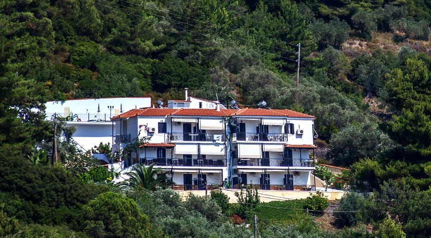 Aegeon Hotel Exterior
